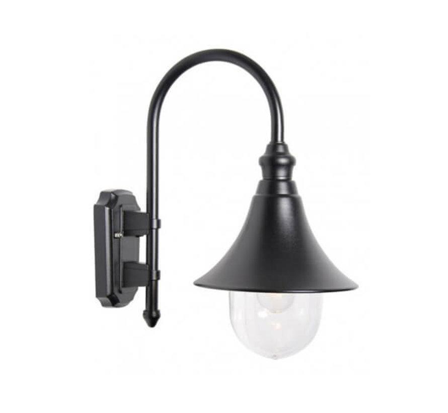 Wandlamp - Calice 2 - Hangend - Zwart