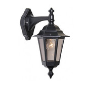 Franssen Verlichting Wandlamp - Berlusi 2 - Hangend - Zwart