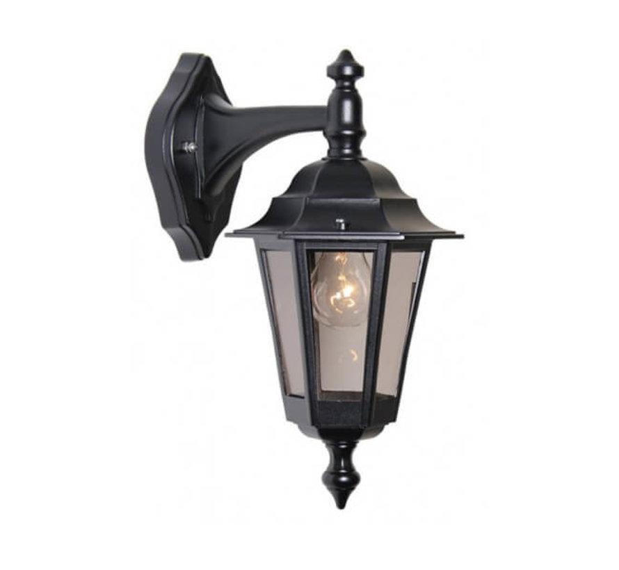 Wandlamp - Berlusi 2 - Hangend - Zwart