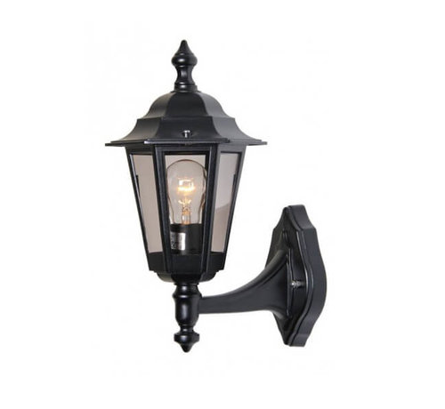 Franssen Verlichting Wandlamp - Berlusi 2 - Staand - Zwart