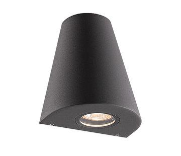 Franssen Verlichting Gevellamp - Downlight - Aluminium