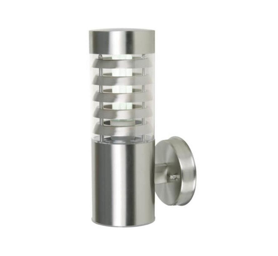 Gevellamp - RVS - Design lamp