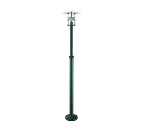 Franssen Verlichting Staande buitenlamp - Selva - 238 cm - Zwart