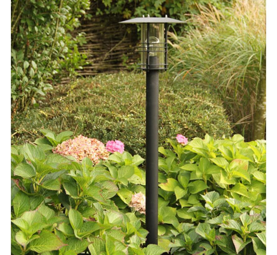 Staande buitenlamp - Selva - 120 cm - Zwart