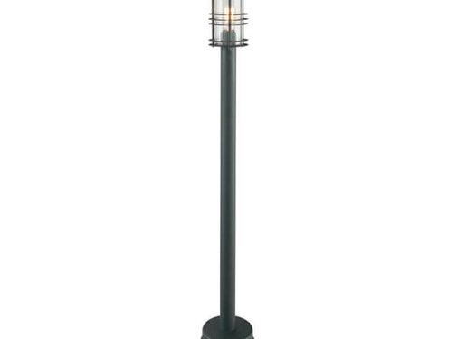 Franssen Verlichting Staande buitenlamp - Selva - 120 cm - Zwart