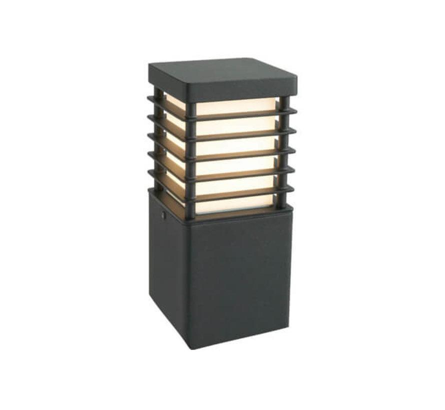 Staande buitenlamp - Selham - 26 cm - Zwart