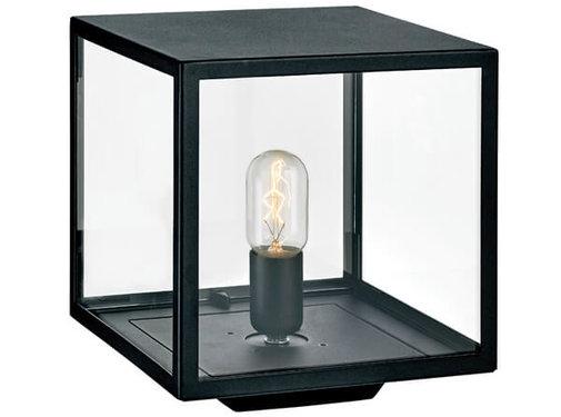 Franssen Verlichting Sokkellamp - Lofoten - Vierkant - Zwart