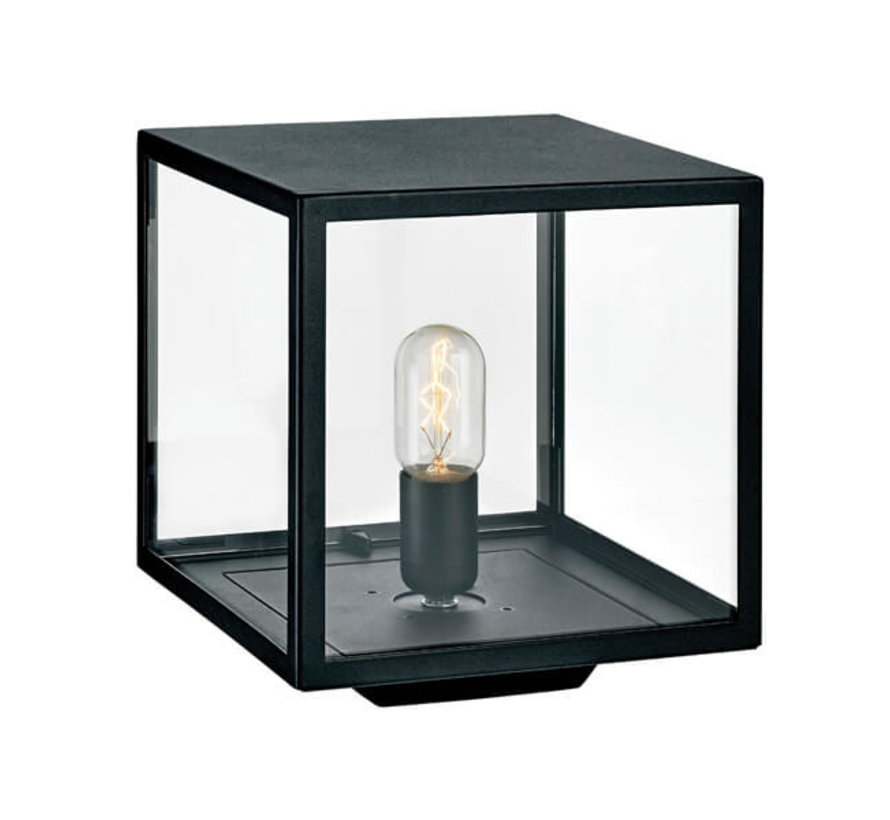 Sokkellamp - Lofoten - Vierkant - Zwart