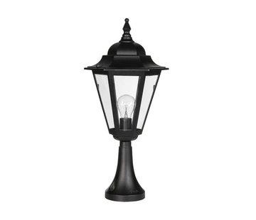 Franssen Verlichting Sokkellamp - Teccia - 59 cm - Zwart
