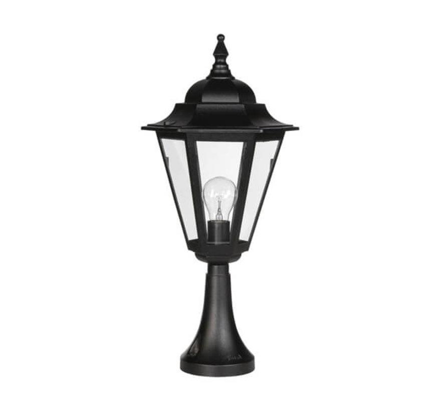 Sokkellamp - Teccia - 59 cm - Zwart