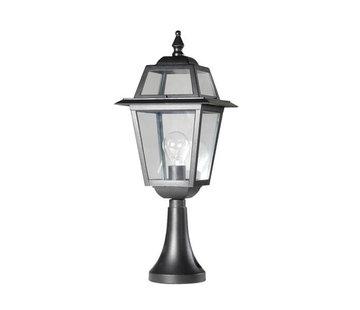Franssen Verlichting Sokkellamp - Perla - 59 cm - Zwart
