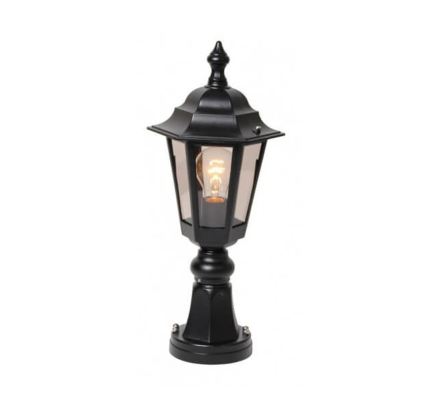Sokkellamp - Berlusi 2 - 48 cm - Zwart