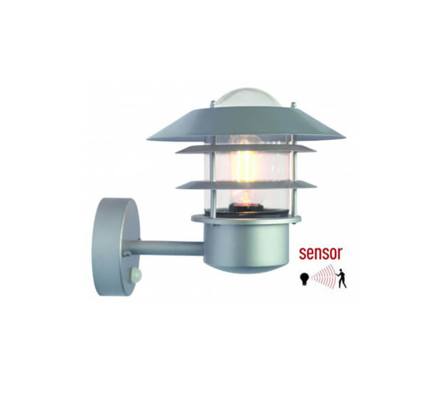 Moderne wandlamp - Zilver - Infrarood Sensor