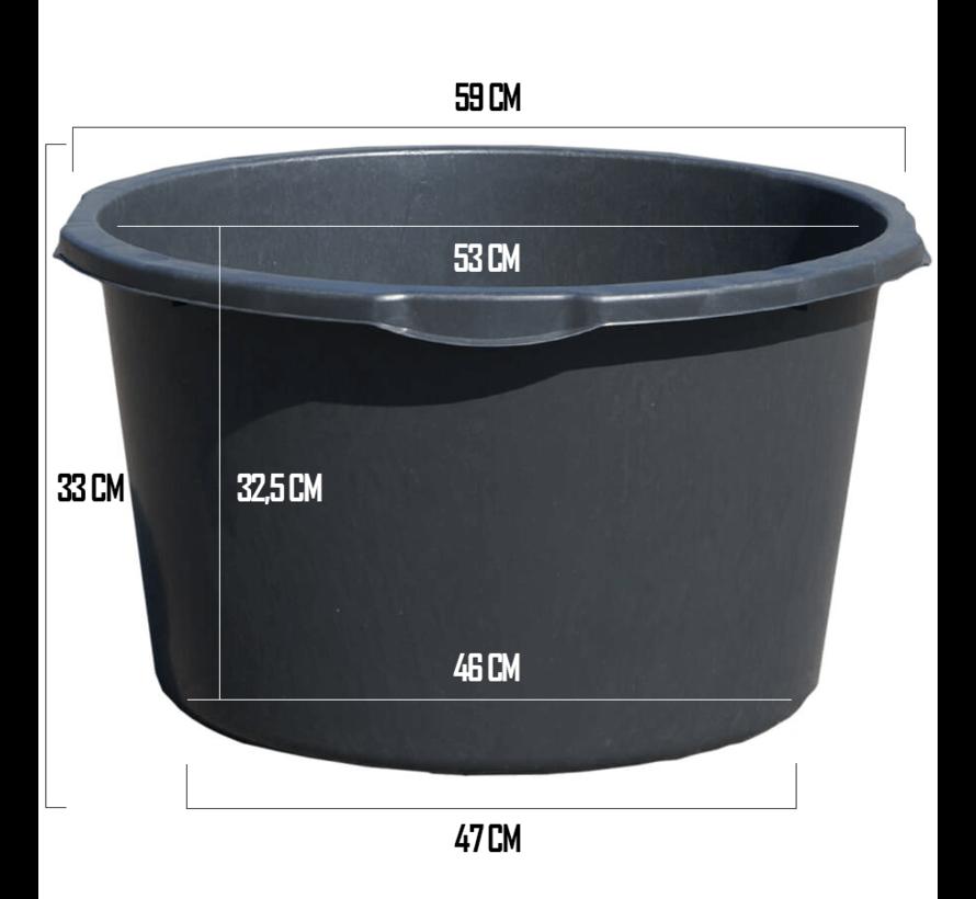 Kuip 65 liter - ø 59 x 33 cm