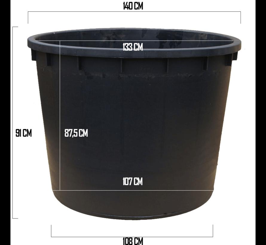 Kuip 1000 liter - ø 140 x 91 cm.