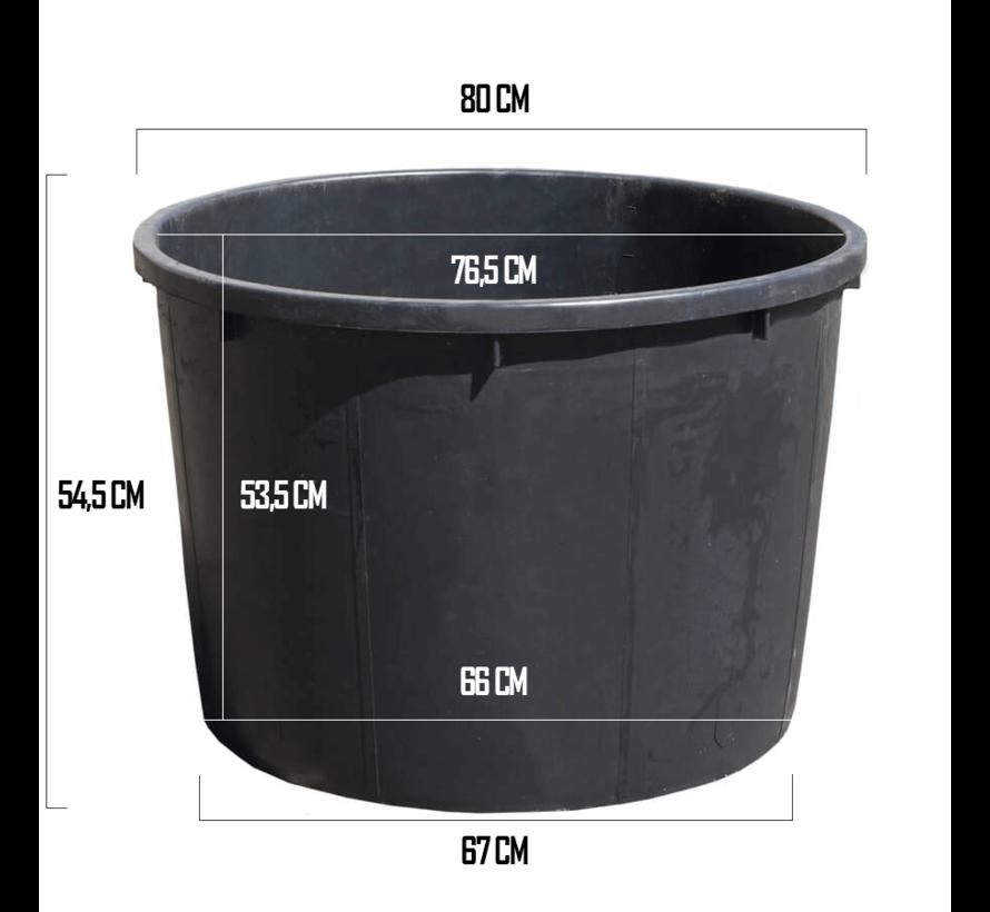 Kuip 210 Liter - ø 80 x 55 cm