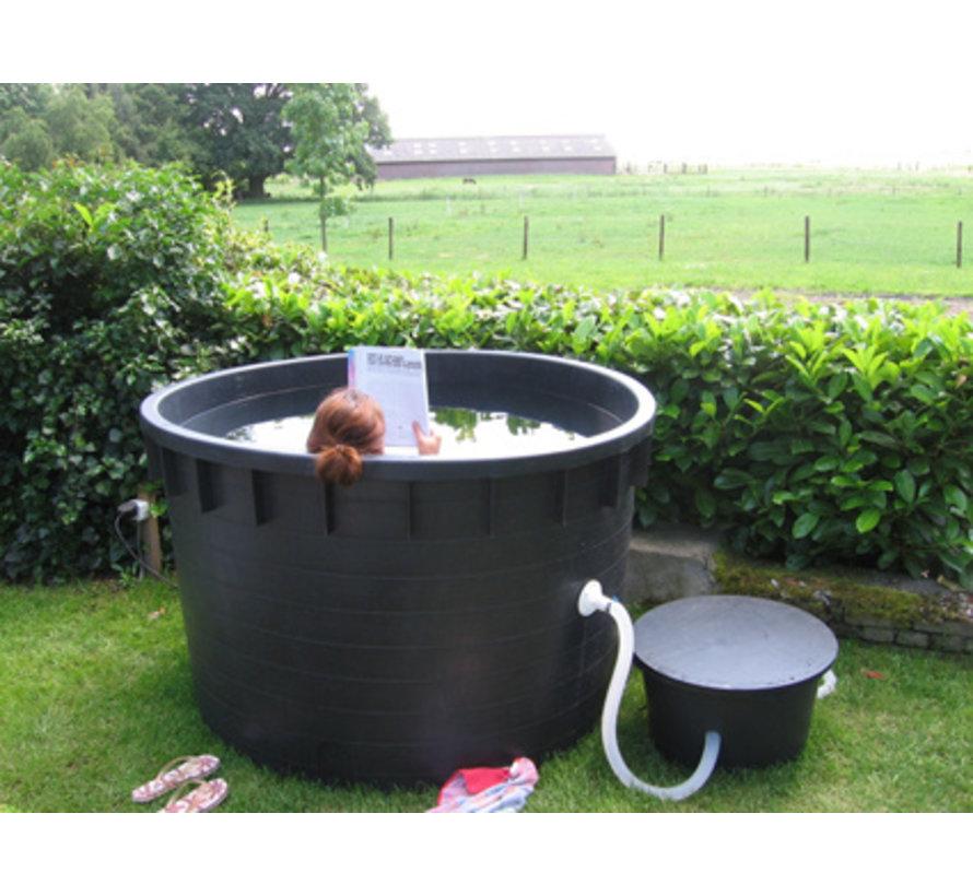 Boomkuip 1500 liter (ø 163 x 102 cm)