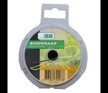 Meuwissen Agro Binddraad - Geplastificeerd - ø 0,8 mm x 50 meter