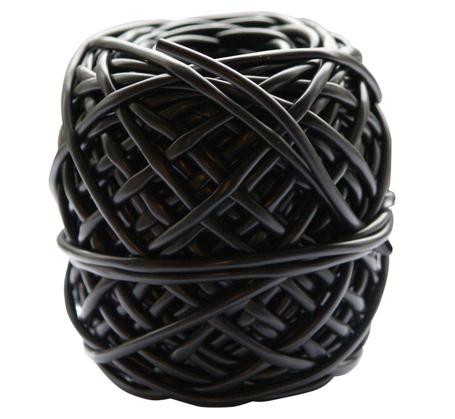 Bindbuis zwart 3,0 mm