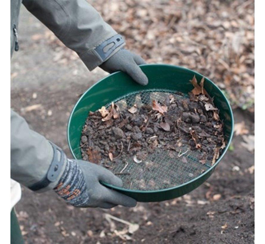 Compostzeef en grondzeef - Metaal