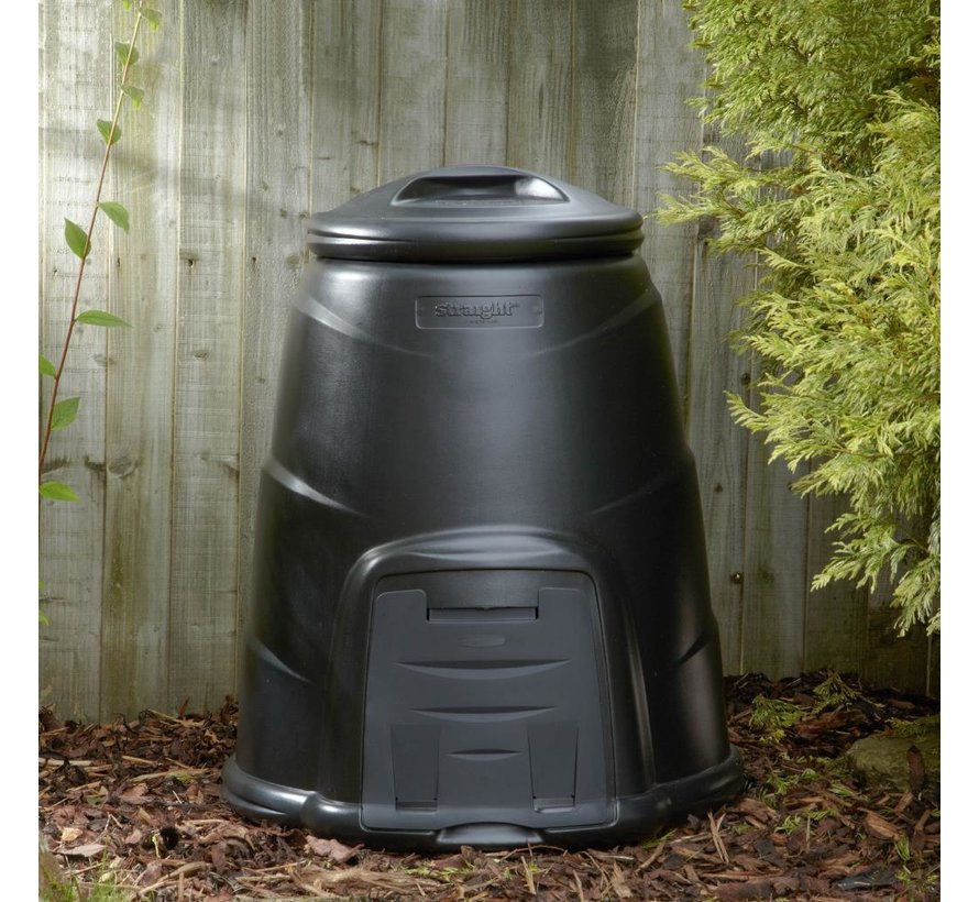 Blackwall Compostvat 220 liter - Zwart