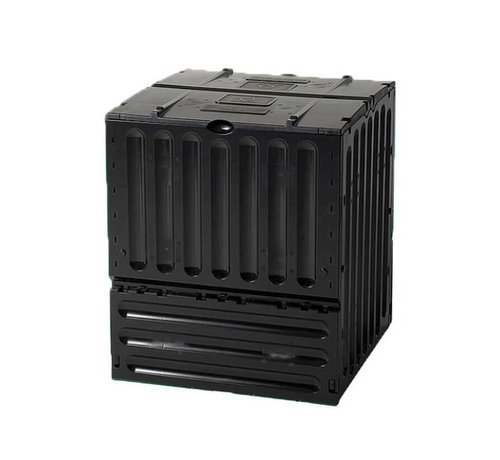 Garantia Compostvat Eco King 400 liter - Zwart