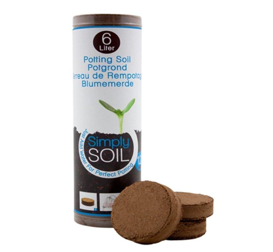 Simply Soil - 12 potgrondtabletten