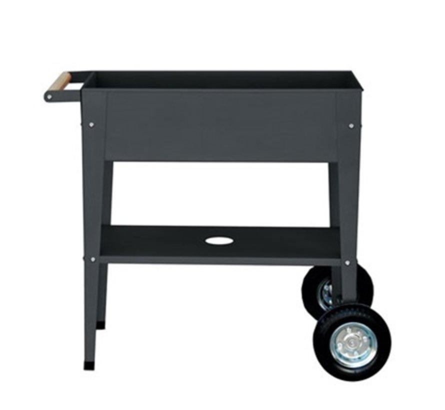 Kweektafel op wielen - Antraciet