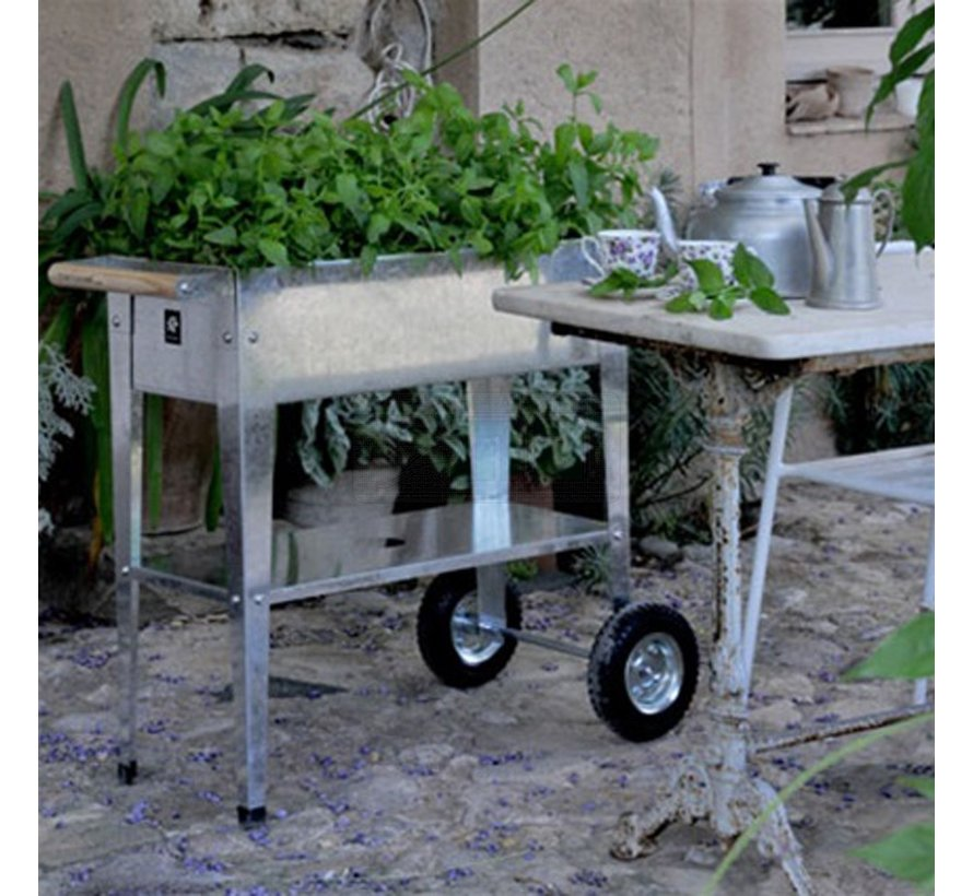 Kweektafel Urban Trolley - Verzinkt