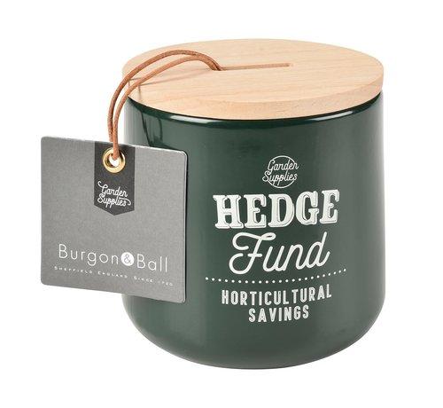 Burgon & Ball Spaarpot - Metaal - Groen