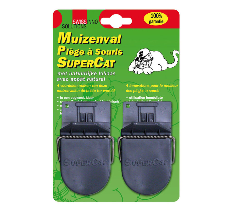 Muizenval SuperCat - 2 Stuks