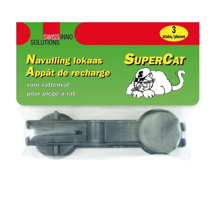 Lokstof rattenval SuperCat