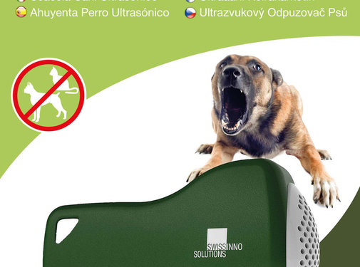 Swissinno Solutions Honden verdrijver ultrasoon SuperCat