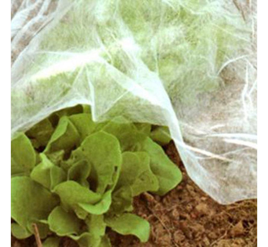 Vliesdoek plantenbescherming 30 gram per m2