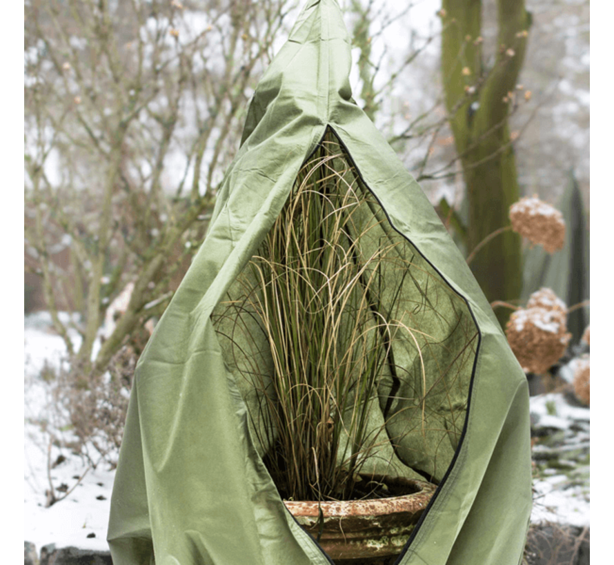 Plantenhoes mt. XXL (winterbescherming) Ø 150 x h. 300 cm.