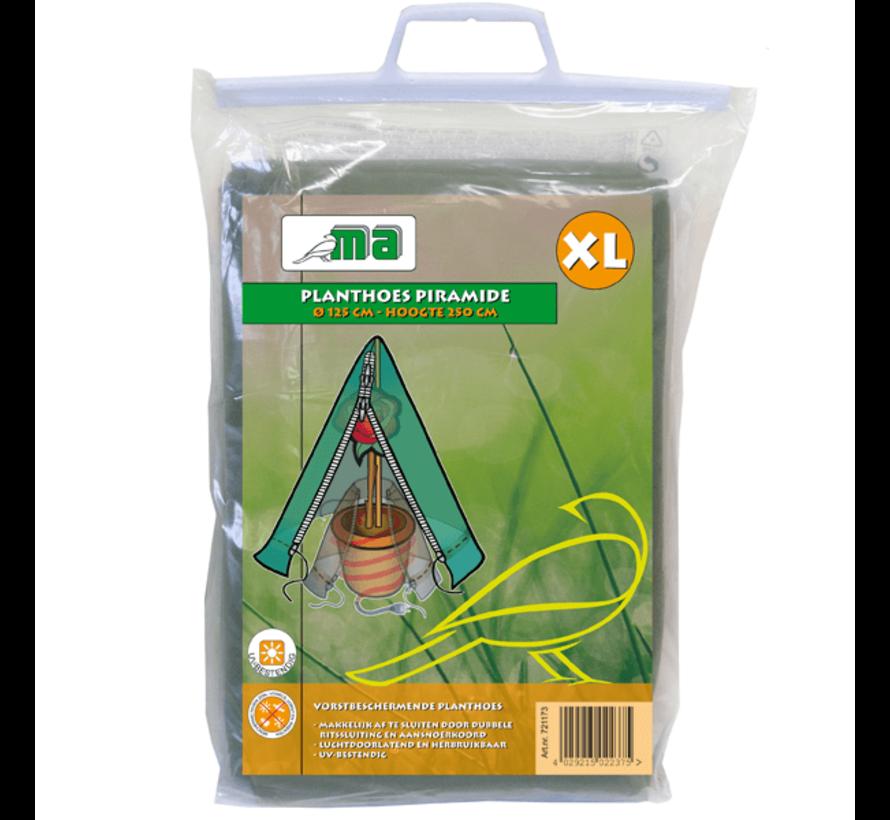 Plantenhoes mt. XL (winterbescherming) Ø 125 x h. 250 cm