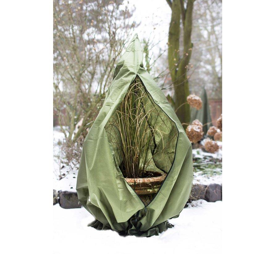 Plantenhoes mt. M (winterbescherming) Ø  75 x h. 150 cm