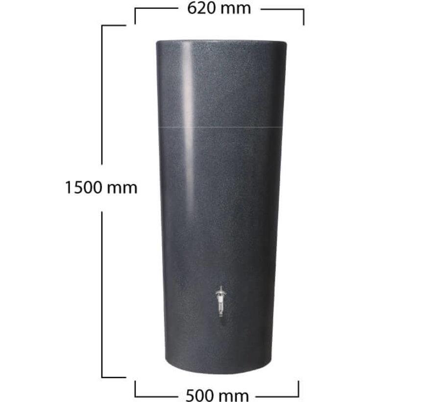 Regenton 2 in 1 - 350 Liter - Lava + Vulautomaat