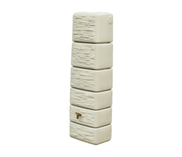 Garantia Regenton Slim - Stone Decor - 300 liter - Beige