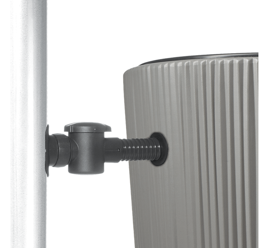 Regenton Linus - 2 in 1 Plantenbak - 220 Liter