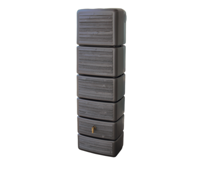 Garantia Regenton Slim - Wood Decor Dark - 300 Liter