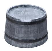 Roto Roto Regenton Voet - 50 Liter - Grijs