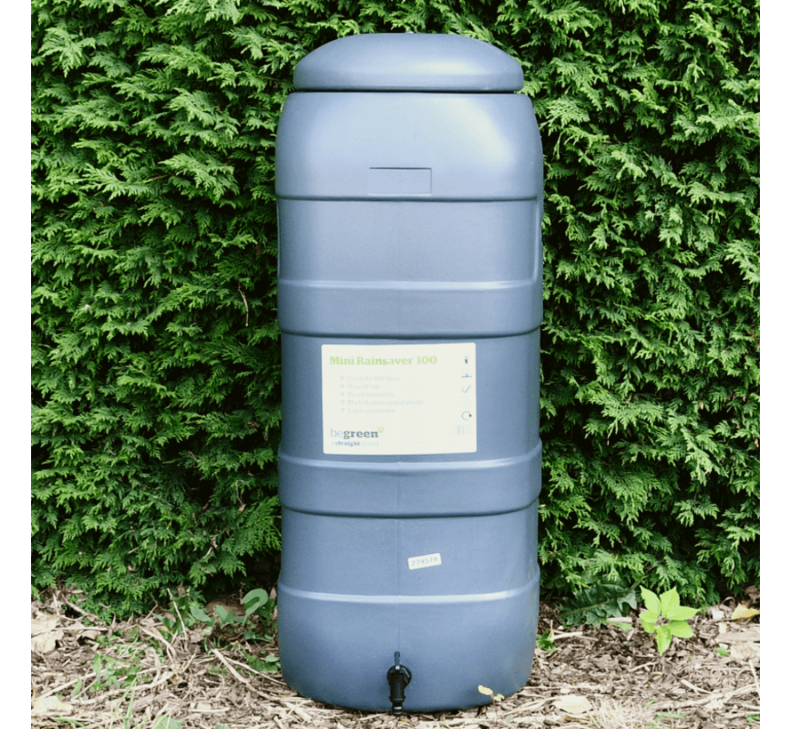 Regenton Rainsaver Antraciet 100 liter