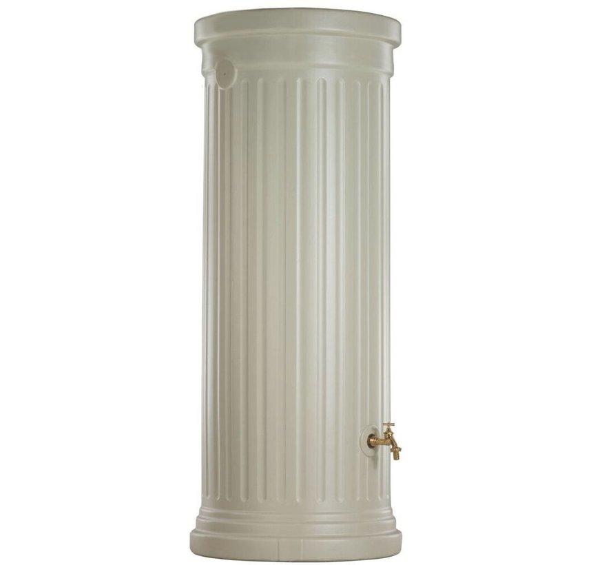 Regenton Zuil Zandbeige 1000 liter