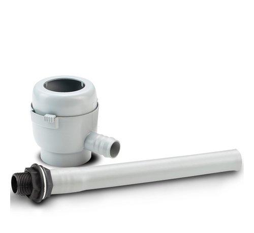 Garantia Vulautomaat klein - Afsluiter & Bladvanger - 50 / 60 mm