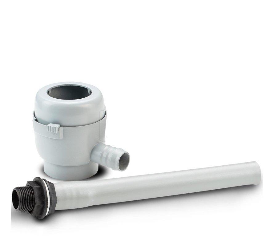 Vulautomaat klein - Afsluiter & Bladvanger - 50 / 60 mm