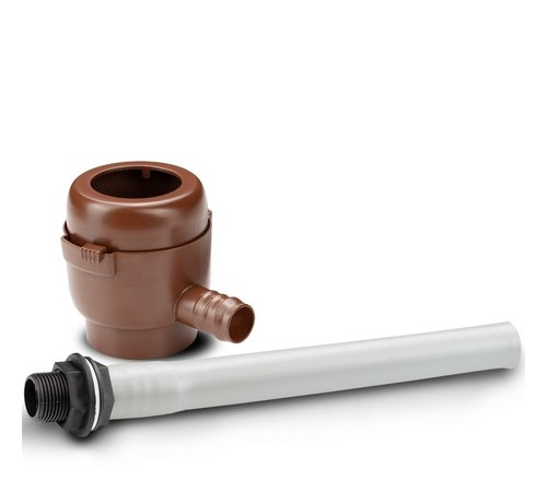 Garantia Regenton Vulautomaat - 50 / 60 mm - Bruin