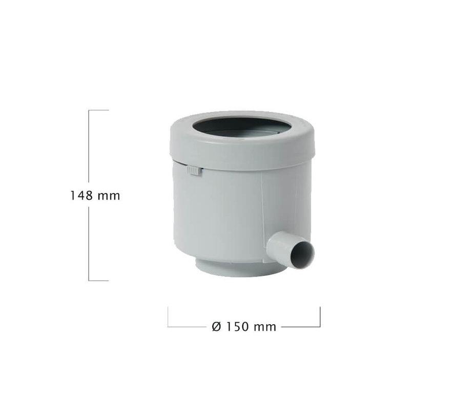 Regenton Vulautomaat Afsluiter-Bladvanger 80 m2