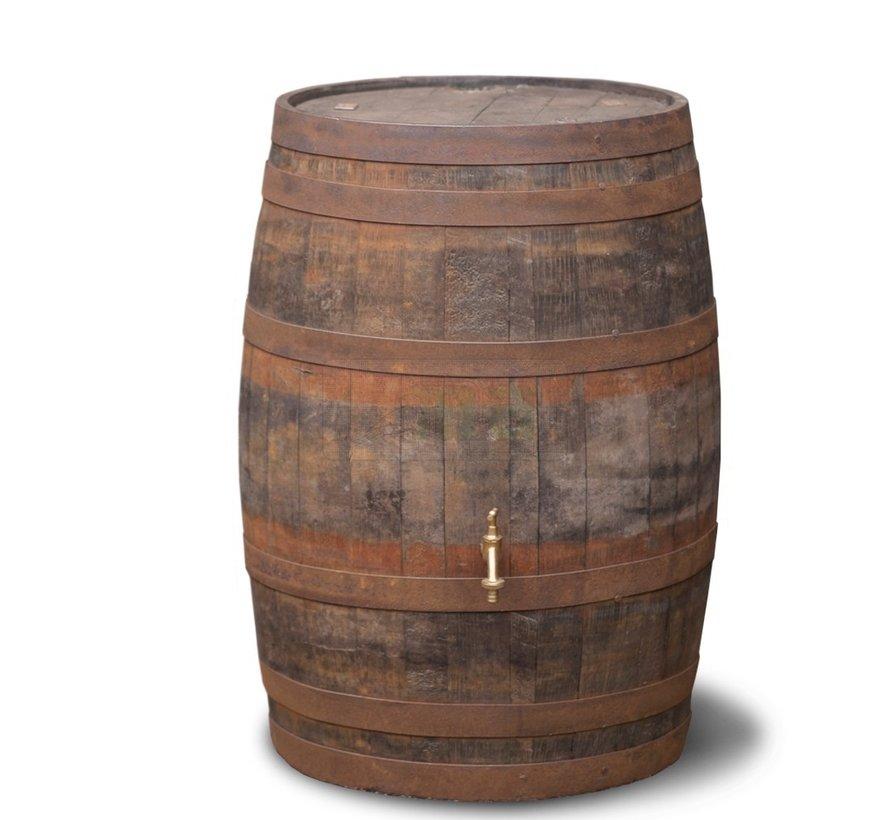 Regenton Whisky vat - 195 liter - Geborsteld