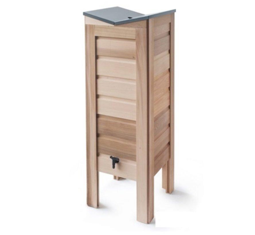Regenton cederhout - 100 Liter